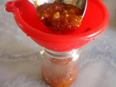 Chutney aux poivrons - 12.2