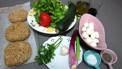 Ingrédients pour la recette : Bruschettas à la tomate