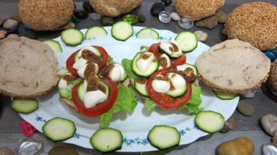 Image : recette Bruschettas  la tomate