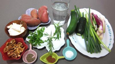 Ingrédients pour la recette : Poêlée de poireaux