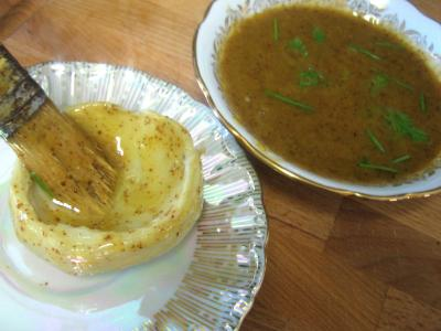 Foie gras en salade chayotte et truffe - 8.2