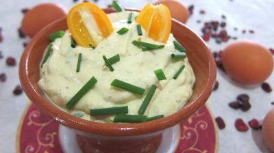 Recette Bol de sauce mayonnaise aux kumquats