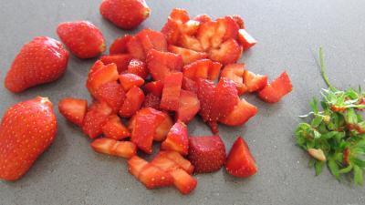 Muffins aux fraises - 1.2