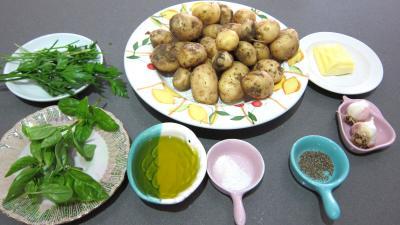 Ingrédients pour la recette : Pommes de terre sautées