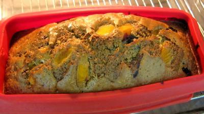 Cake aux abricots et aux myrtilles - 4.3