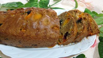 Recette Cake aux abricots et aux myrtilles