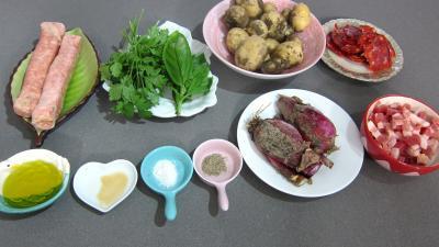 Ingrédients pour la recette : Pommes de terre au chorizo