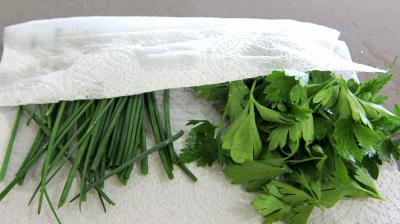 Haricots verts et courgettes gratinés aux fines herbes - 2.2