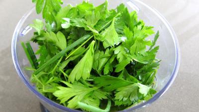 Haricots verts et courgettes gratinés aux fines herbes - 3.3