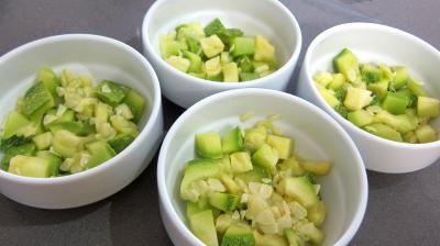 Haricots verts et courgettes gratinés aux fines herbes - 5.2