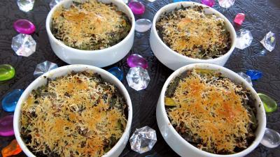 Haricots verts et courgettes gratinés aux fines herbes - 7.2