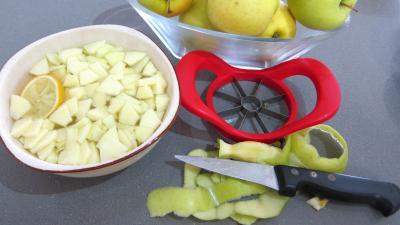 Chutney de mûres aux pommes - 1.4