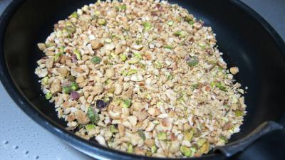 Risotto aux haricots verts et mendiants - 3.1