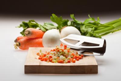 Photo : Mirepoix de légumes