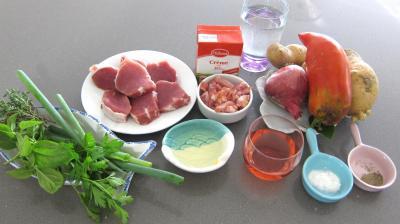 Ingrédients pour la recette : Filet mignon aux pommes de terre