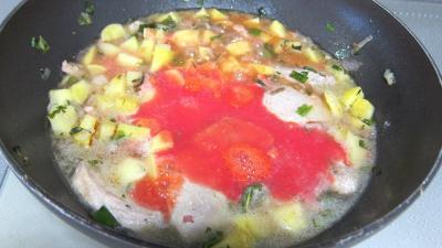 Filet mignon aux pommes de terre - 7.3