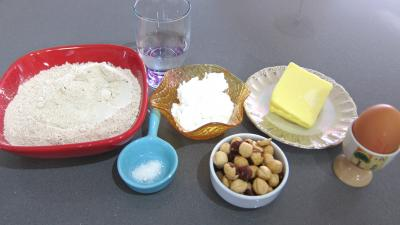 Ingrédients pour la recette : Pâte brisée sans gluten