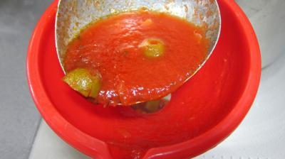 Sauce tomates aux olives (conserve) - 8.2