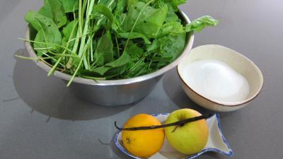 Ingrédients pour la recette : Confiture d'oseille
