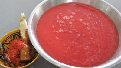 Conserve de sauce tomate au blanc de dinde - 6.1