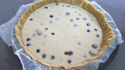 Clafoutis aux raisins et au brousse - 3.2
