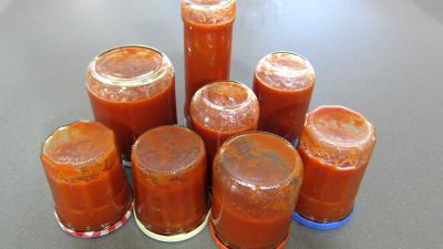 Conserve de sauce pizza aux olives - 10.1