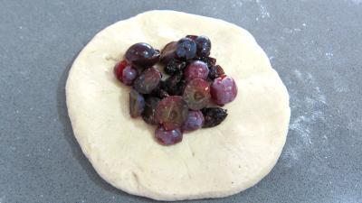 Pain au lait aux raisins frais et cranberries secs - 6.1