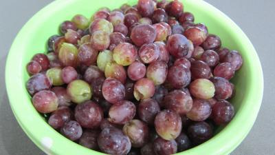 Chutney aux raisins frais - 1.2