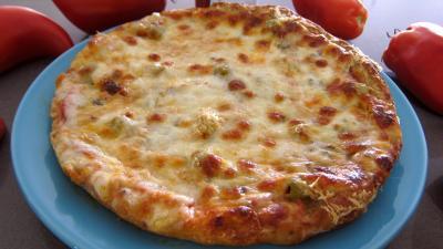 Recette Assiette de pizza margherita