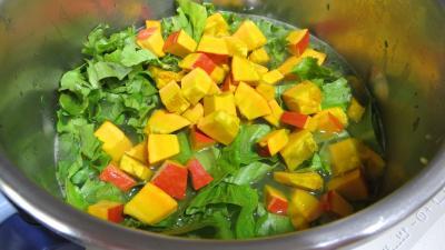 Soupe minceur de batavia et légumes - 7.4