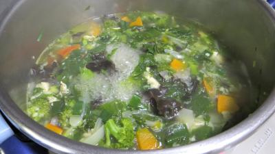 Soupe minceur de batavia et légumes - 8.2