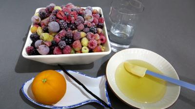 Ingrédients pour la recette : Coulis de fruits rouges (conserves)