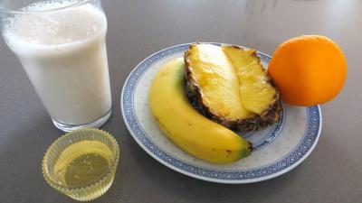 Ingrédients pour la recette : Boisson à l'ananas