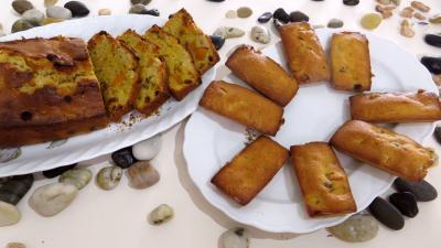 dessert avec légumes : Assiettes de pumpkin bread