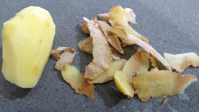 Epinards à l'arôme d'orange - 1.4