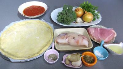Ingrédients pour la recette : Pizza lotte et fromages