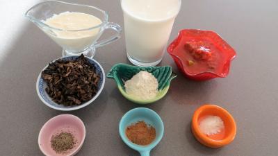 Ingrédients pour la recette : Sauce aurore facile
