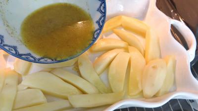 Quartiers de pommes de terre au cumin - 4.3