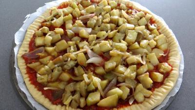 Pizza à l'aubergine - 4.4
