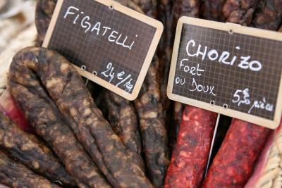 Photo : Figatelli et chorizo