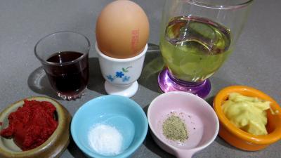 Ingrédients pour la recette : Sauce marseillaise