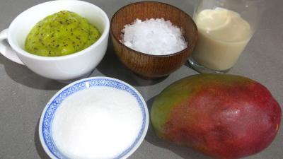 Ingrédients pour la recette : Smoothies aux kiwis