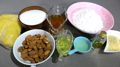 Ingrédients pour la recette : Massillons (petits four)