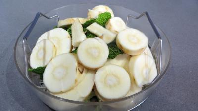 Panais et légumes vapeur - 1.4