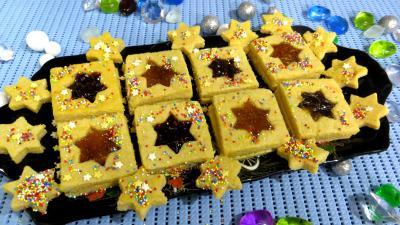 dessert polenta : Plat de cruchades