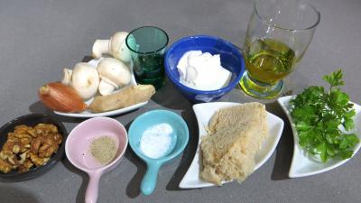 Ingrédients pour la recette : Sauce skordalia revisitée