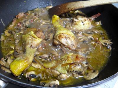 Pilons de poulet à la bourguignonne - 7.3