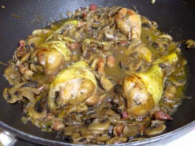 Pilons de poulet à la bourguignonne - 8.1