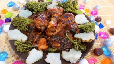 Recette Assiette de ragoût de poulet