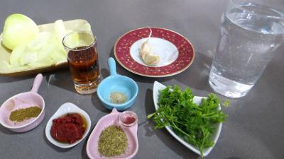 Ingrédients pour la recette : Boeuf braisé façon créole